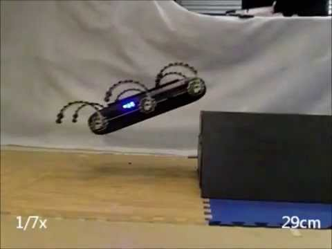 X-RHex Lite robot leaps across gaps in a single bound (video)