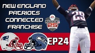 Madden NFL 25 PS4 Connected Franchise: New England Patriots - Growing Pains [Y3W1 EP24]