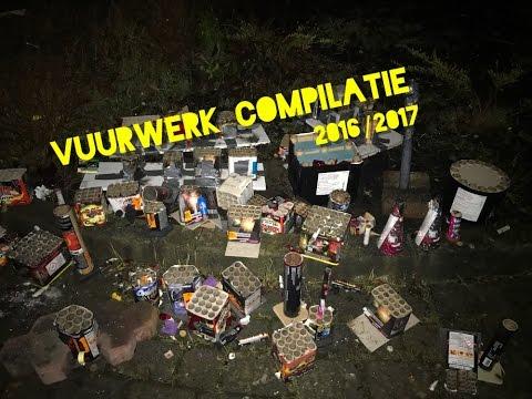 VUURWERK COMPILATIE - SILVESTER 2016/2017