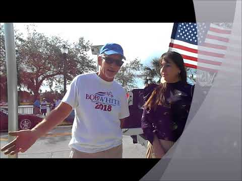 Bob White For Governor 2018 - Downtown Melbourne, Fl Veteran's Day Parade