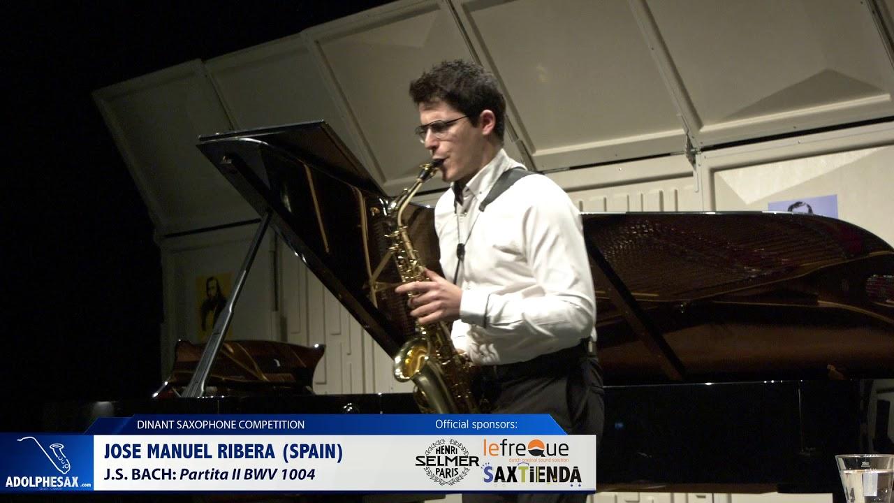 Jose Manuel Ribera (Spain) - Partita II BWV 1004 by J.S.Bach (Dinant 2019)
