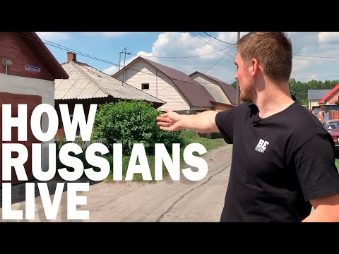 How Do People Live in Russia?