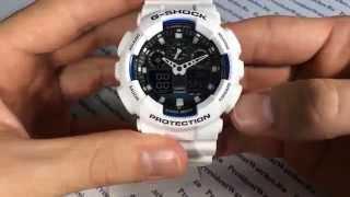 Неубиваемые часы Casio G-SHOCK GA-100B-7A - видео обзоры от PresidentWatches.Ru(Функции и характеристики наручных часов Casio G-SHOCK GA-100B-7A Купить часы с доставкой в PresidentWatches.Ru - http://presidentwatches.ru/..., 2014-05-18T07:52:02.000Z)