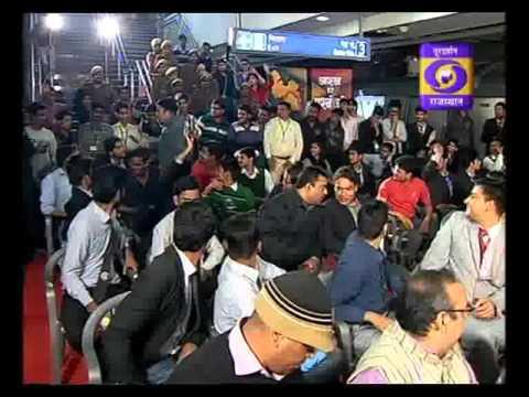 Quiz Show Prashnottari: Jaipur Metro Special at Chand Pol Depot - Pareek PG College