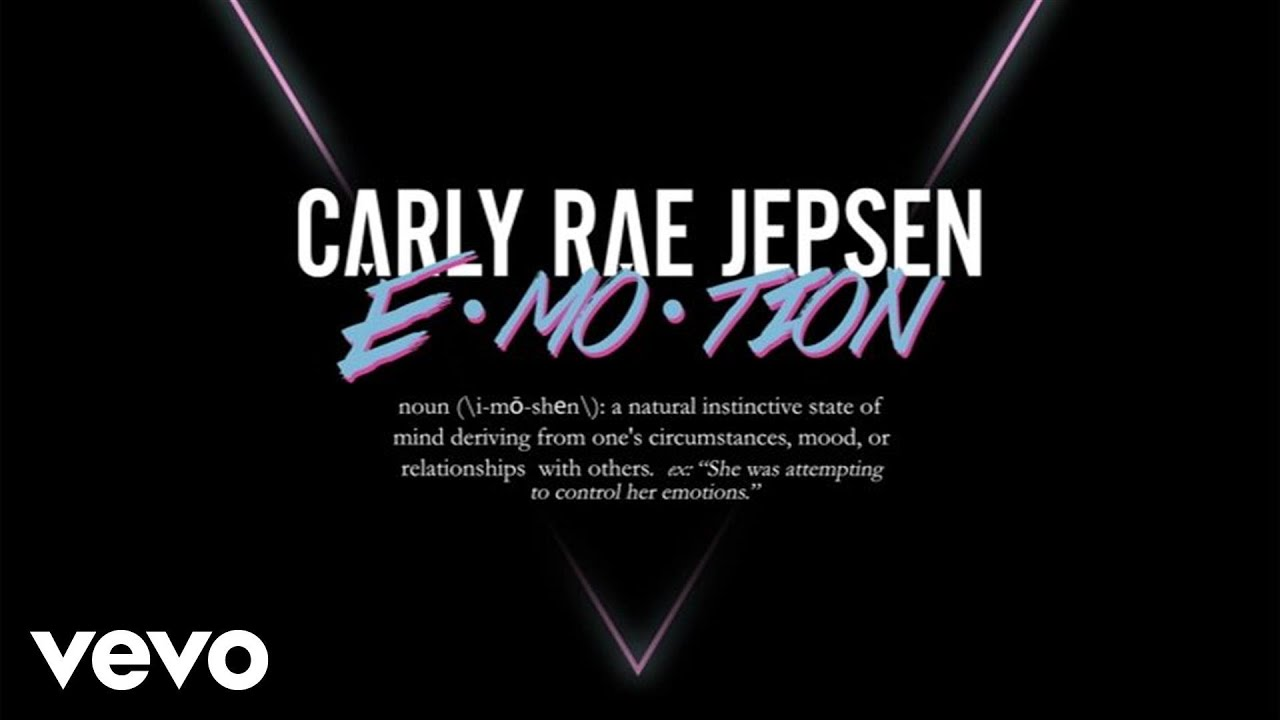 Carly Rae Jepsen - E·MO·TION (Audio)