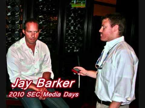 Jay Barker 2010 SEC Media Days