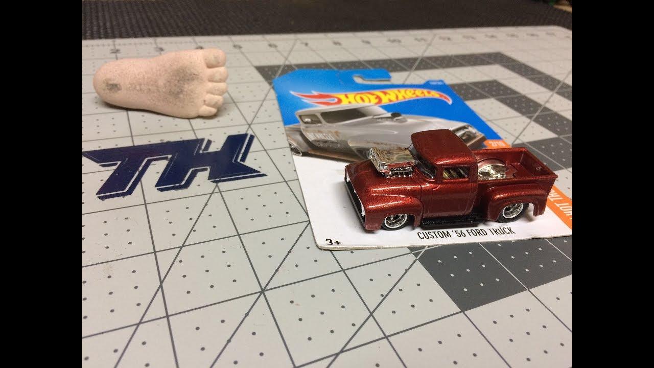 Custom 56 Ford Truck Hot Wheels Youtube