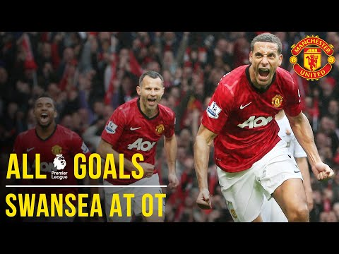 Manchester United V Swansea City   All The Premier League Goals At Old Trafford   Manchester United
