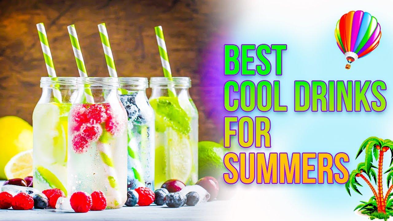 5 Best Refreshing Summer Soft Drinks | रेफ्रेशिंग कोल्ड ड्रिंक्स गार्मियो के लिए For Indian Summer