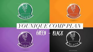 Younique comp plan: green - black 2018