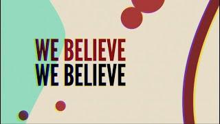Yancy - We Believe [OFFICIAL LYRIC VIDEO] from Kidmin Worship Vol. 4 Popular Worship Songs