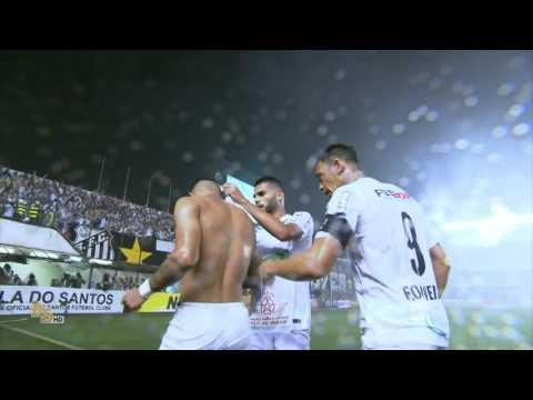 Gol Santos 1 x 0 Palmeiras - Copa do Brasil 2015