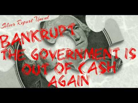 America is Bankrupt! The Government Out Of Cash Again! Economic Collapse News