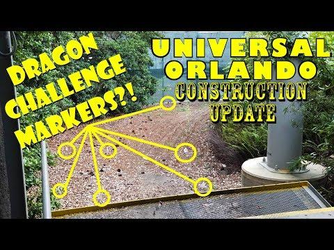 Universal Orlando Resort Construction Update 8.6.17 DRAGON