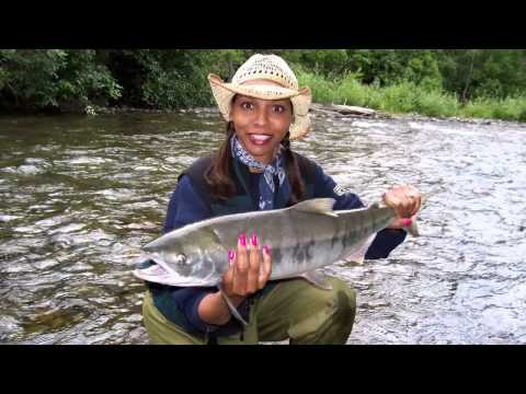 Surviving Breast Cancer Through Fly Fishing!