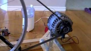 Repeat youtube video Bicycle Generator