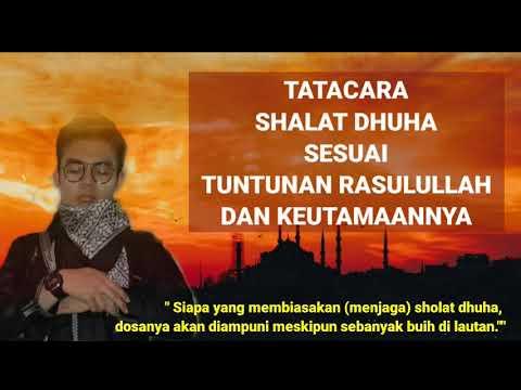 Shalat Dhuha Sesuai Tuntunan Rasulullah dan Tatacaranya