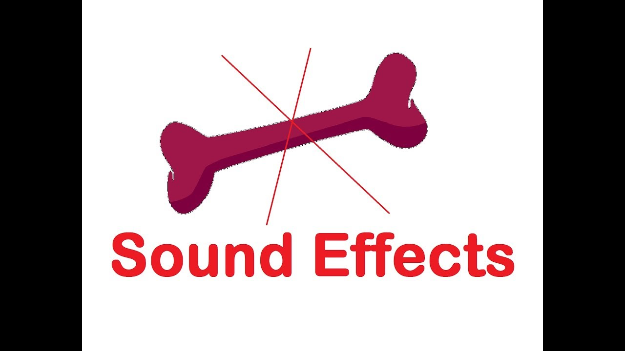 Bone Break Crack Sound Effects All Sounds