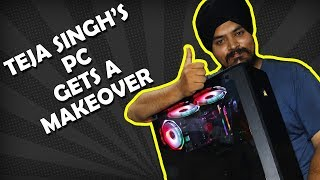 Lets Give his Gaming PC a quick makeover !!! [HINDI]