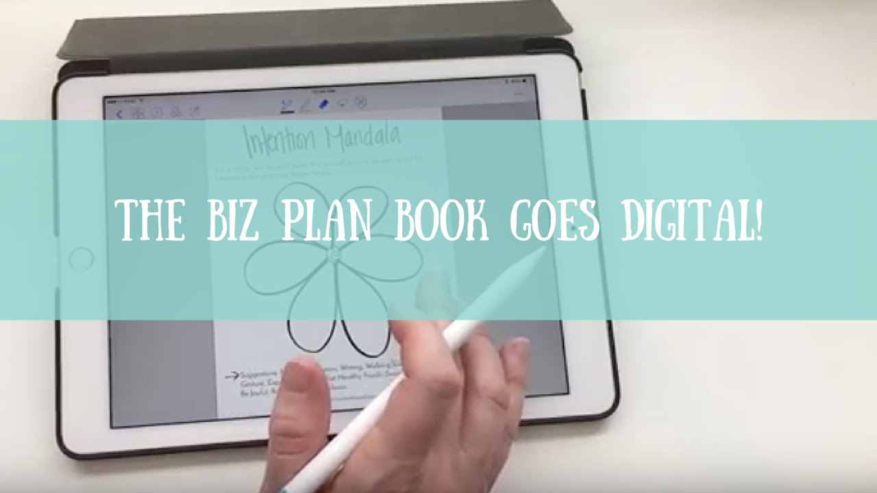 the biz plan book goes digital how to use it with the ipad pro and