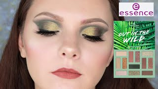 НОВИНКИ ESSENCE OUT IN THE WILD DONT STOP BELEAFING СВОТЧИ И МАКИЯЖ MAKEUP TUTORIAL