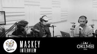 #LaSauce - Invité : MASKEY sur OKLM Radio 20/12/16