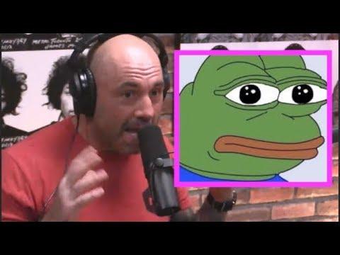Joe Rogan on Pepe the Frog Meme Outrage