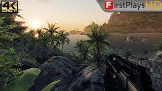 Crysis (2007) - PC Gameplay / Win 10 / 4k 2160p