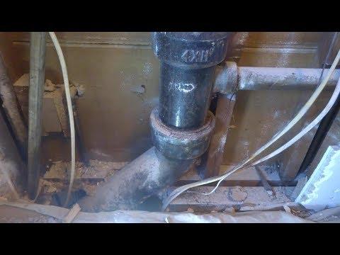 cast iron drain repair