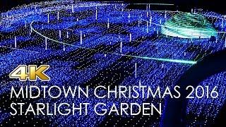 [4K]Christmas Lights of Roppongi - Tokyo Midtown 2016 /  六本木東京ミッドタウンクリスマスイルミネーション2016初日/ 東京燈飾 일루미네이션