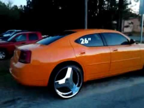 Charger On 26 Inch Blades Youtube