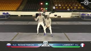 Novi Sad European Championships 2018 Day06 MS RUS vs FRA