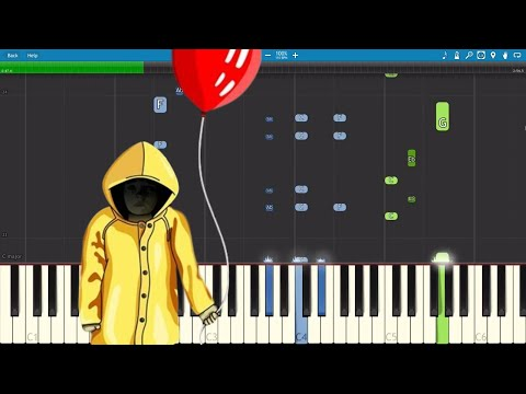 Pennywise Sings A Song - IT (2017) Parody - Piano Cover / Tutorial
