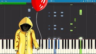 pennywise sings a song it 2017 parody piano cover tutorial