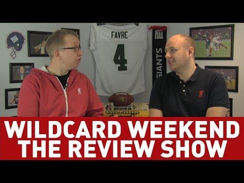 NFL PLAYOFFS - WILDCARD ROUND REVIEW!
