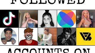 Top 10 Most Followed Tiktok Accounts October 2019