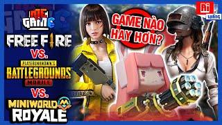 Cân Kèo: Mini World Royale vs Free Fire vs PUBGm - Game Nào Hay Hơn? | meGAME screenshot 5