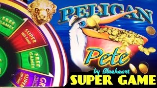 ★$11 MAX BET★PELICAN PETE and BUFFALO GOLD slot SUPER GAME BIG BONUS WINS (WONDER 4 WONDER WHEEL)(This is Wonder 4 JACKPOTS Wonder Wheel series Pelican Pete max bet bonus and BUFFALO GOLD max bet SUPER GAME bonus wins. You can also see ..., 2017-02-27T08:00:05.000Z)