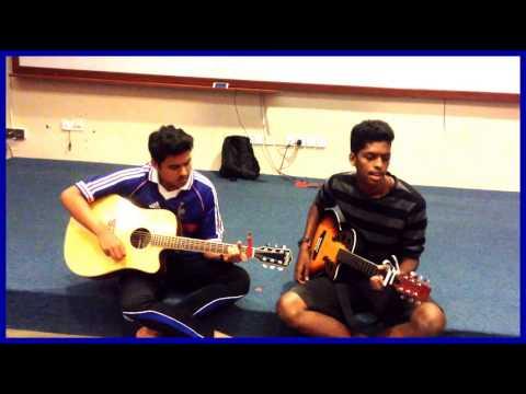 Enakenna Yarum illaye guitar cover - by Rubhin & Dana
