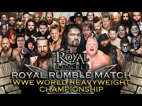 WWE Royal Rumble 2016 - Royal Rumble Match (WWE World Heavyweight Championship) - WWE 2K16