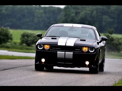 First Drive Review The  Dodge Challenger Srt Drives To The Vanishing Point Version
