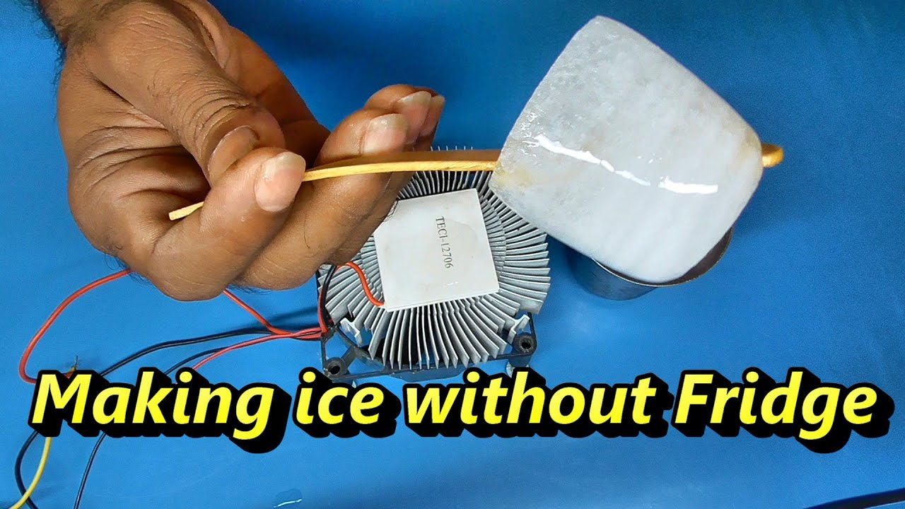 Ice maker,  Cooling system, thermoelectric refrigeration system, peltier module price