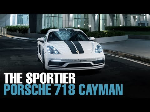 NEWS: 718 Cayman SportDesign Series unveiled