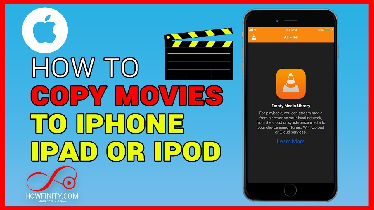 how to copy movies from your computer to your iphone or