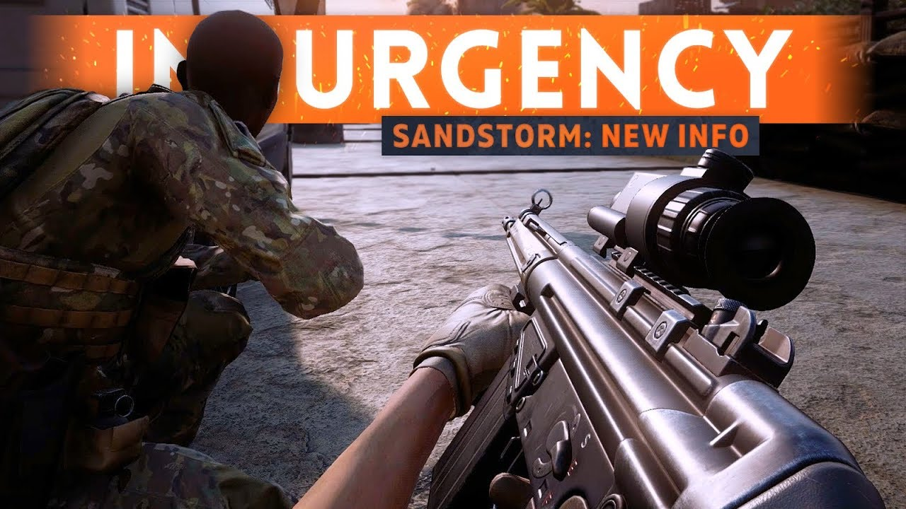 INSURGENCY SANDSTORM: Modding Support & FREE DLC Confirmed! (Console Release Date *DELAYED*)