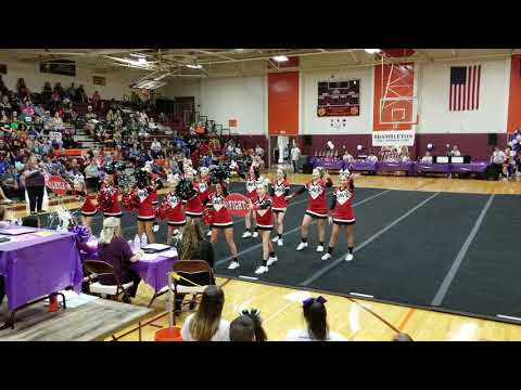 Cave Spring Middle School at The Battle @ Byrd Cheer Competition 2018
