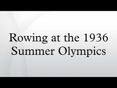 Rowing at the 1936 Summer Olympics