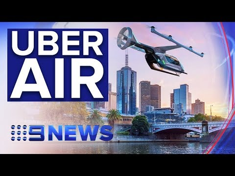 First flying taxi trial to take place in Melbourne | Nine News Australia