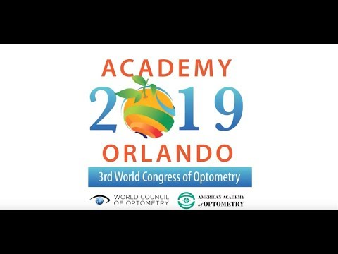 Academy 2019 Orlando and 3rd World Congress of Optometry