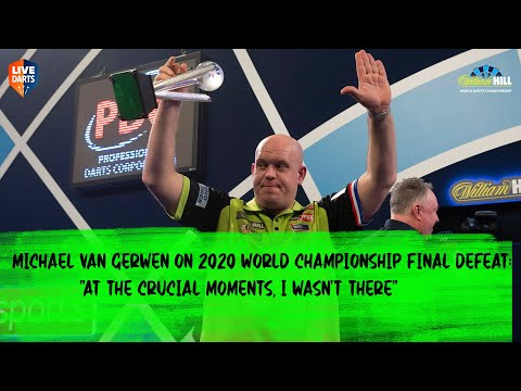 """Michael van Gerwen on 2020 World Championship final defeat: """"At the crucial moments, I wasn't there"""""""